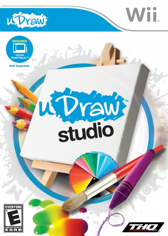 uDraw Studio for Wii Walkthrough, FAQs and Guide on Gamewise.co