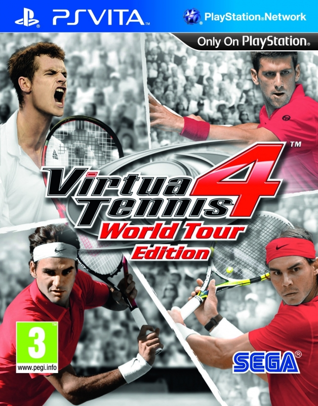 Virtua Tennis 4: World Tour on PSV - Gamewise