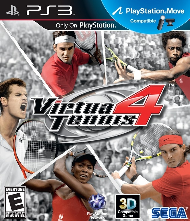 Gamewise Virtua Tennis 4 Wiki Guide, Walkthrough and Cheats