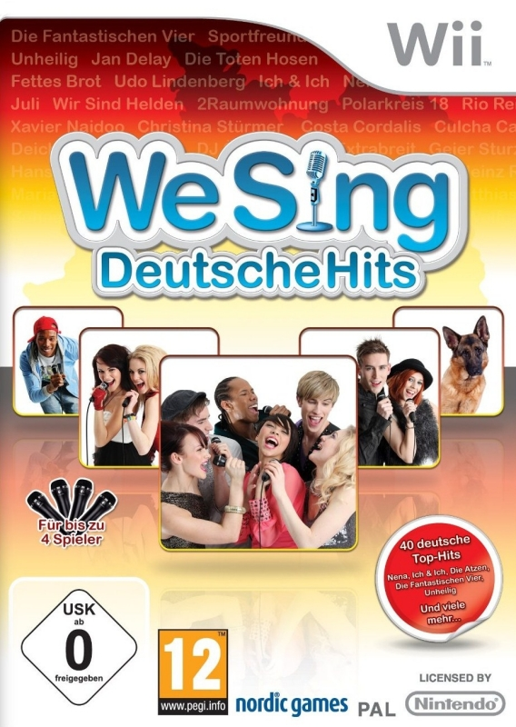 We Sing Deutsche Hits on Wii - Gamewise