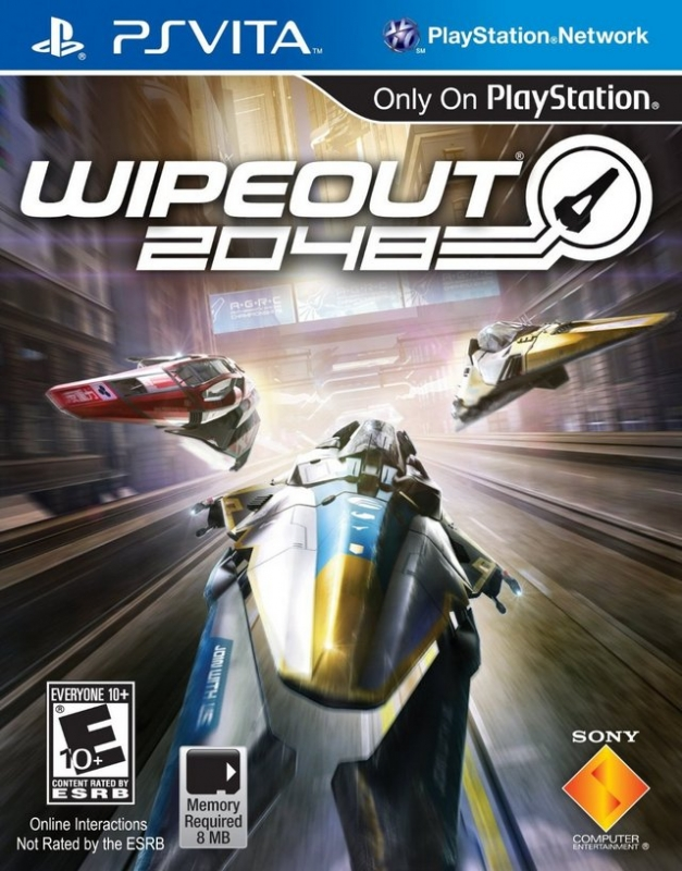 Wipeout 2048 on PSV - Gamewise