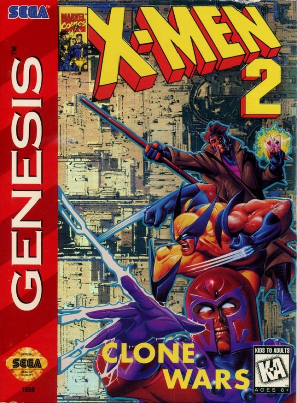 X Men 2 Clone Wars For Sega Genesis Sales Wiki Release Dates Review Cheats Walkthrough