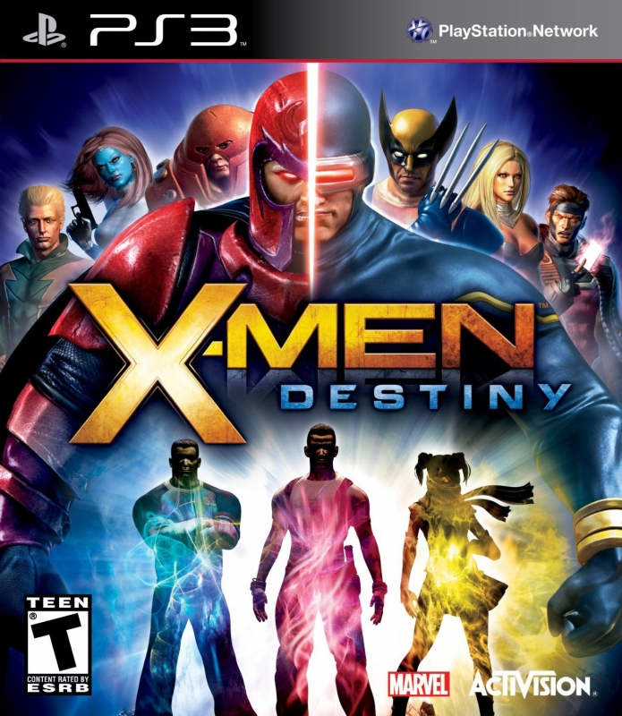 X-Men: Destiny for PS3 Walkthrough, FAQs and Guide on Gamewise.co