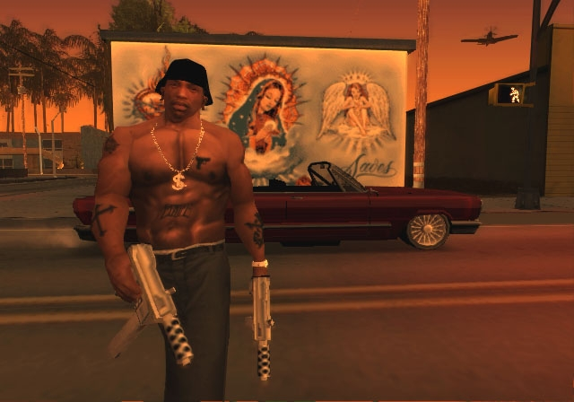Grand Theft Auto: San Andreas Screenshots for PS2