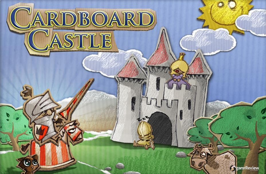 vgchartz gamrReview cardboard castle iphone ipad review adventure puzzle knight