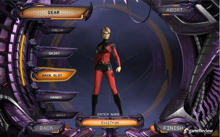 DC Universe Online Character Creation