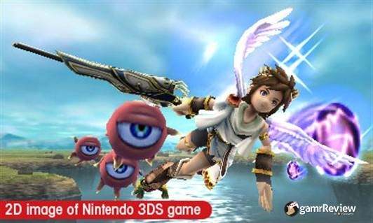 Kid Icarus: Uprising Screenshot at gamrReview