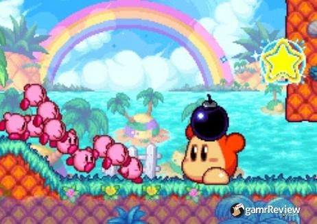 kirby mass attack bomb waddle dee ds