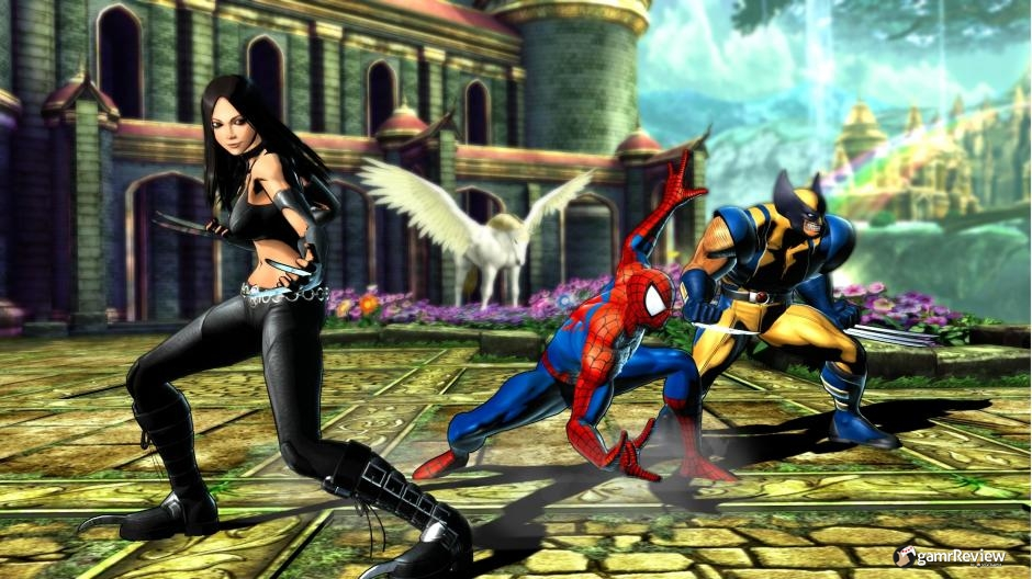 Marvel vs. Capcom 3 Screen