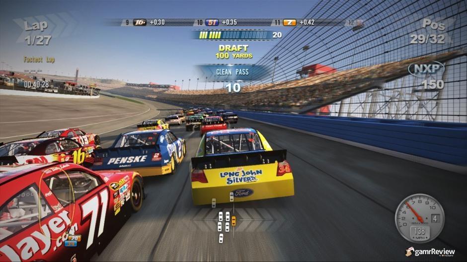 nascar wii 2011. NASCAR 2011: The Game
