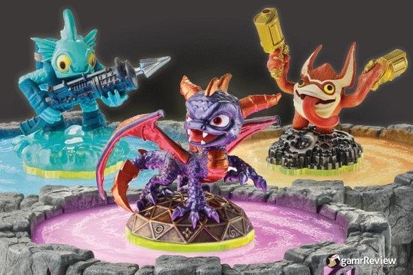 skylanders ps3 xbox360 wii 3DS starter figures spyro